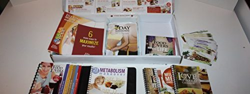 514RbnvQHNL 500x188 - Food Lovers Fat Loss System Kit, Binder, Fat Loss Secrets Audio Series, 3 Dvds, 6 Audio Cds, Recipes, and 4 Ring Bound Books.